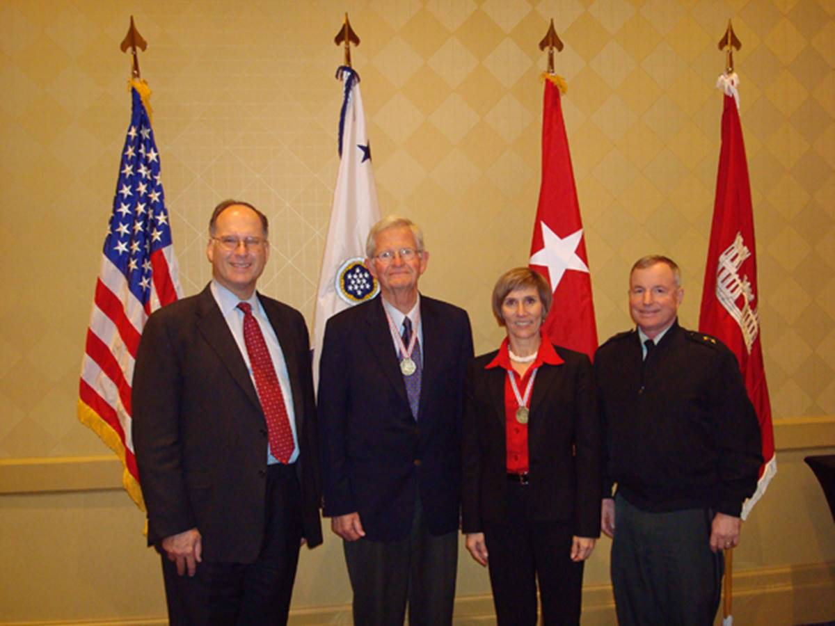 induction as Fellow PIANC with John Paul Woodley, Bob Nickles, Bo Temple
